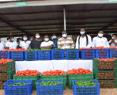 Agritop supports Kumasi South Hospital with fresh vegetables