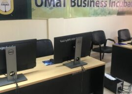 Business Incubation Hub outdoored in UMat