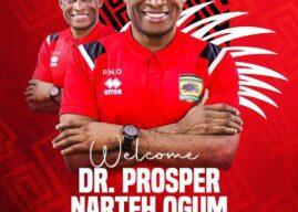 Former WAFA coach Ogum appointed new Asante Kotoko head coach