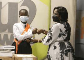 Ms Naziru Mawadatu crowned as Child Sanitation Diplomat 2021