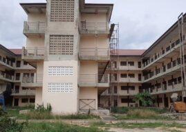 Aflao Chief slams gov't over abandoned E-blocks